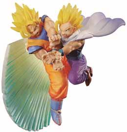 Photo du produit DRAGON BALL Z DORACAPU MEMORIAL KAMEHAMEHA SON GOKU & SON GOHAN DIORAMA
