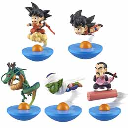 DRAGON BALL Z TRADING FIGURE YURA COLE