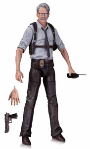 BATMAN ARKHAM KNIGHT FIGURINE COMMISSIONER GORDON