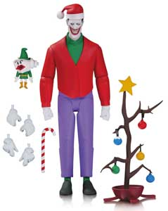 FIGURINE BATMAN THE ANIMATED SERIES CHRISTMAS WITH THE JOKER 15 CM