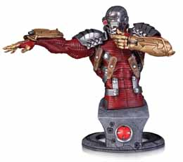DC COMICS SUPER VILLAINS BUSTE DEADSHOT