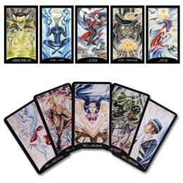 JUSTICE LEAGUE JEU DE CARTES DE TAROT