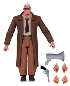 FIGURINE BATMAN THE ANIMATED SERIES COMMISSAIRE GORDON 15 CM
