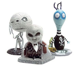 TIM BURTON PACK 3 FIGURINES SET #2 TOXIC BOY