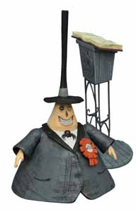 L'ETRANGE NOEL DE MONSIEUR JACK SELECT FIGURINE SERIE 2 THE MAYOR