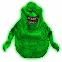 SOS FANTÔMES TIRELIRE GLOW-IN-THE-DARK SLIMER