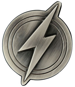 JUSTICE LEAGUE DECAPSULEUR THE FLASH LOGO 10 CM