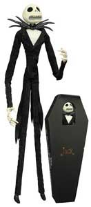 L'ETRANGE NOEL DE MONSIEUR JACK POUPEE JACK SKELLINGTON COFFIN DOLL UNLIMITED EDITION