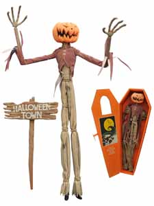 L'ETRANGE NOEL DE MONSIEUR JACK POUPEE PUMPKIN KING JACK COFFIN DOLL