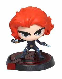 FIGURINE DRAGON MODELS AVENGERS L'ÈRE D'ULTRON BOBBLE HEAD BLACK WIDOW
