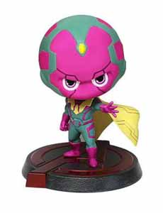 FIGURINE DRAGON MODELS AVENGERS L'ÈRE D'ULTRON BOBBLE HEAD VISION