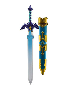 REPLIQUE PLASTIQUE EPEE LINK´S MASTER SWORD 66 CM - LEGEND OF ZELDA SKYWARD SWORD