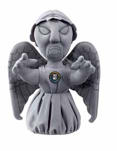 DOCTOR WHO PELUCHE 22CM WEEPING ANGEL ANGE PLEUREUR SONORE