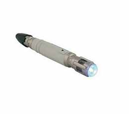 DOCTOR WHO 10TH DOCTOR SONIC SCREWDRIVER TORCH 13CM