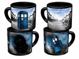 DOCTOR WHO TARDIS MUG CÉRAMIQUE THERMORÉACTIF