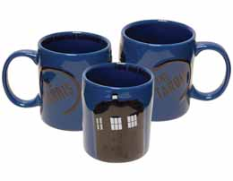 DOCTOR WHO TARDIS MUG CÉRAMIQUE 2D RELIEF