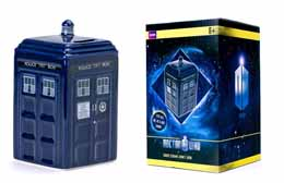 DOCTOR WHO TARDIS TIRELIRE CÉRAMIQUE 16CM