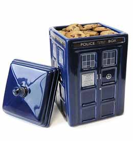 DOCTOR WHO TARDIS COOKIE JAR CÉRAMIQUE 22CM