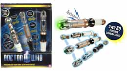 DOCTOR WHO SET PERSONALISE YOUR SONIC SCREWDRIVER
