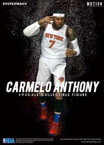 NBA COLLECTION FIGURINE MOTION MASTERPIECE 1/9 CARMELO ANTHONY 23 CM
