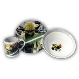 STAR WARS SET PETIT-DEJEUNER YODA