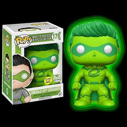 FUNKO POP EMERALD CITY CRUSADER GLOW IN THE DARK ECCC