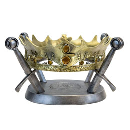 GAME OF THRONES REPLIQUE 1/1 COURONNE DE ROBERT BARATHEON LIMITED EDITION 25 CM
