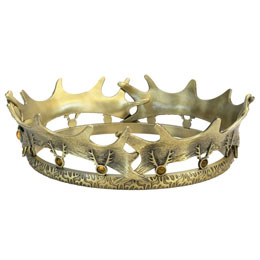 Photo du produit GAME OF THRONES REPLIQUE 1/1 COURONNE DE ROBERT BARATHEON LIMITED EDITION 25 CM Photo 1