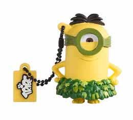 MINIONS CLE USB AU NATUREL 8 GB