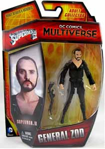 DC MULTIVERSE SUPERMAN II GENERAL ZOD ACTION FIGURE