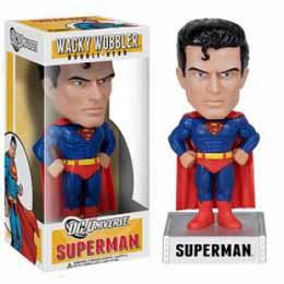 FUNKO WACKY WOBBLERS DC COMICS - SUPERMAN BOBBLE HEAD