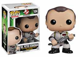 Funko Pop! Ghostbusters Docteur Peter Venkman