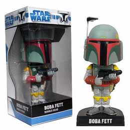 FUNKO WACKY WOBBLERS STAR WARS - BOBA FETT BOBBLE HEAD