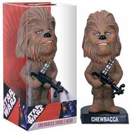 FUNKO WACKY WOBBLERS STAR WARS - CHEWBACCA BOBBLE HEAD