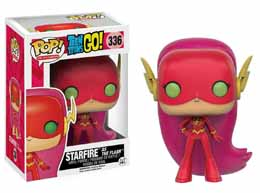 TEEN TITANS GO! POP! TELEVISION VINYL FIGURINE STARFIRE AS THE FLASH
