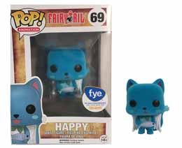 FAIRY TAIL FUNKO POP ANIMATION HAPPY FLOCKED LIMITED