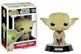 STAR WARS POP! VINYL BOBBLE HEAD DAGOBAH YODA