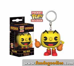 PAC-MAN PORTE-CLE POCKET POP! PAC-MAN