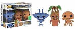Photo du produit SDCC 2016 FUNKO POP HARRY POTTER CORNISH PIXIE/MANDRAKE/GRINDYLOW EXCLUSIVE