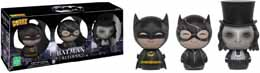 SDCC 2016 FUNKO DORBZ BATMAN RETURNS PACK 3 FIGURINES EXCLUSIVE