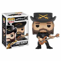 Photo du produit MOTORHEAD FUNKO POP LEMMY KILMISTER