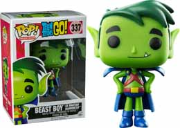Photo du produit FUNKO POP TEEN TITANS GO! BEAST BOY AS MARTIAN MANHUNTER