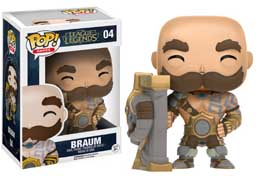 FIGURINE FUNKO POP BRAUM LEAGUE OF LEGENDS