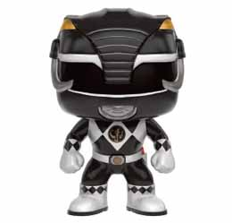 POWER RANGERS FUNKO POP BLACK RANGER