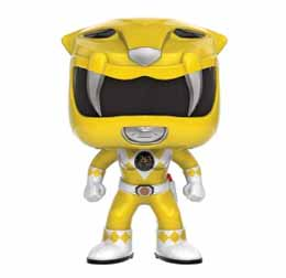 POWER RANGERS FUNKO POP YELLOW RANGER