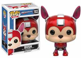 MEGAMAN FUNKO POP FIGURINE RUSH