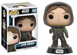 STAR WARS FUNKO POP JYN ERSO HOODED