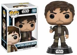 STAR WARS FUNKO POP CPT CASSIAN WITH JACKET