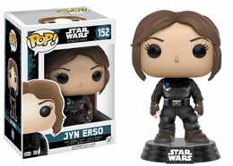 FIGURINE FUNKO POP STAR WARS ROGUE ONE BOBBLE HEAD JYN ERSO