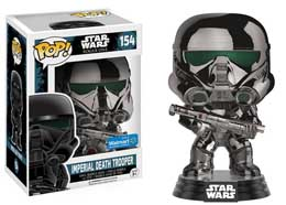 FIGURINE FUNKO POP STAR WARS ROGUE ONE IMPERIAL DEATH TROOPER CHROME METALLIC
